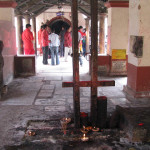 Sacrifice Altar at Kamakhya Temple