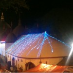 Decorated Kamakhya Temple during Night Time