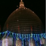 Dome of Kamakhya Temple at Night