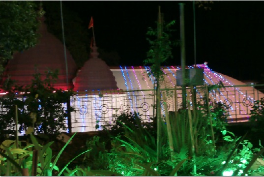 Night View of Kamakhya Temple from its Office