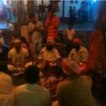 Sikh Devotees inside Kamakhya Temple Assam