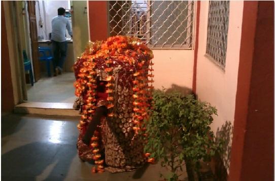 The Doli of Goddess kept at Kamakhya Debutter Board Office